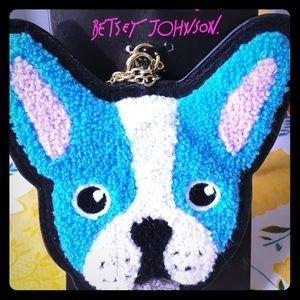 Betsey Johnson Blue ID Case